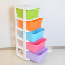 five drawer plastic storage cabinets lockers children s bedroom closet candy colored baby clothing organization with 125 12 piece on zhoudan5246 s