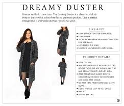 Marni Dress Size Chart Agnes Dora Dreamy Duster Size Chart In 2019 Cable Knit