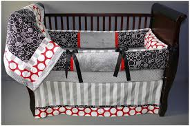 preston red baby bedding
