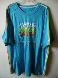 Details About Coogie Shirt Blue Yellow Orange Embroidered Logo Euc