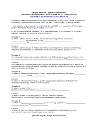 cv objectives statement resume examples templates 10 examples of resume objectives for of