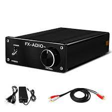 FX AUDIO HiFi Class D Amplifier Home Audio Stereo Amp 160W x 2 with 32V 5A  DC Power Supply for Home System FX1002A|Amplifier