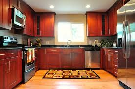 cherry kitchen cabinets black granite. cherry shaker cabinet red oak hardwood floor black galaxy granite kitchen cabinets c