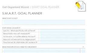 Smart Goals Template Smart Goal Template Setting Worksheet Goals Poporon Co