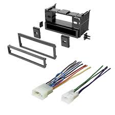cheap radio wire harness connectors radio wire harness get quotations · toyota 1987 1997 camry car stereo radio cd player receiver install mounting kit wire harness
