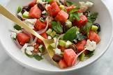 amazing watermelon greek salad with feta