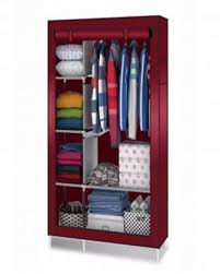 portable simple wardrobe clothes an stuff storage