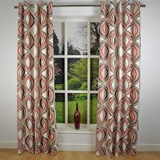 Printed Curtains Living Room Red And Cream Curtains For Living Room Decorate Our Home With