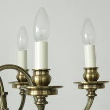 Sechsflammiger Empirestil Kronleuchter Kerzen Lumi Leuchten