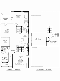 luxury 2 bedroom ranch home floor plans inspirational house plans with two two story house plans