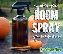pumpkin e room spray natural air freshener