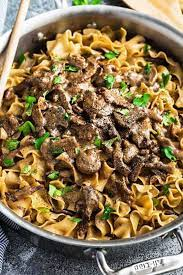one pot beef stroganoff recipe easy