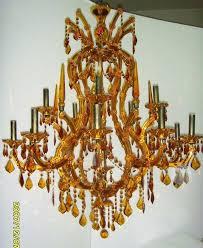 amber crystal chandeliers chandelier appealing funky chandeliers