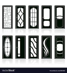 Door Vector Design Modern Front Doors