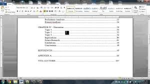 Dissertation Format Maxresdefault Help How To Your Table Of Contents