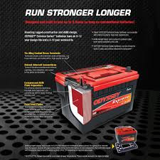 Odyssey Motorcycle Battery Application Chart Odyssey Pc545mj Extreme Series Motorcycle Battery