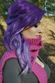 Love This Beautiful Purple Ombré Hair