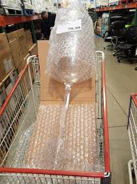 costco has 4 foot wine glasses because of course they do