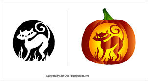 Halloween Carving Patterns Magnificent 48 Free Halloween Scary Pumpkin Carving Patterns Stencils