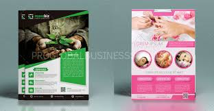 Services Flyer Professional Custom Flyer Design Services Company Pgbs