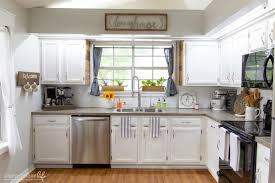 chalk paint kitchen cabinets. Painting Kitchen Cabinets With Chalk Paint From Dixie Belle | 80\u0027s Drab To Farmhouse Fab ,