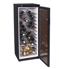 haier cooler. 46-bottle haier wine cooler a