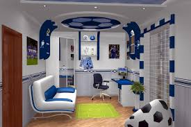 design cool study room football decoration feat tennis court rug awesome leather chair furniture ideas