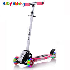 <b>Baby Shining Kids Scooter</b> Outdoor Toy Baby Bike Safety Kick ...