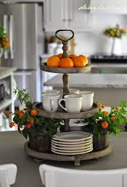 3-Tier Round Display. Table Centerpieces For HomeKitchen ...