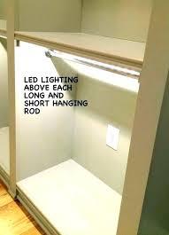 walk in closet lighting ideas. Exellent Lighting Walk In Closet Lighting Ideas  Reach Best On Custom  To