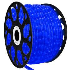 Led Rope Lights Home Depot Wintergreen Lighting 150 Ft 1800 Light Led Blue Rope Light Kit