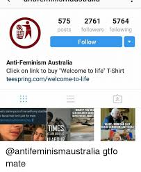 Female privilege checklist, anti, feminism, australia