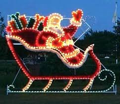 santa sleigh and reindeer outdoor decoration inspirational reindeer and sleigh outdoor lights with idea reindeer and
