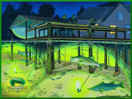 check out this great selection of underwater dock light artwork from customers and professional artists