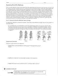 Engineering Design Process Worksheet High School 28 Applying Scientific Methods Worksheet Comparing
