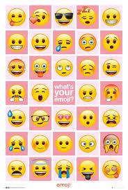 Emoji Whats Your Emoji Plakát Obraz Na Zeď Posterscz