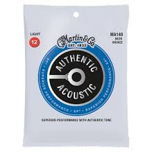 Martin String Chart Authentic Acoustic Sp Strings