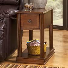 ashley furniture laflorn chairside end table. signature design by ashley laflorn oak power chair side end table | hayneedle furniture chairside
