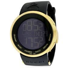 gucci 1142. gucci men\u0027s ya114215 114 i-gucci limited edition watch in black - 1142