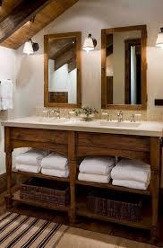 rustic bathroom vanities ideas. Contemporary Rustic Rustic Wood Double Bathroom Table Throughout Vanities Ideas A
