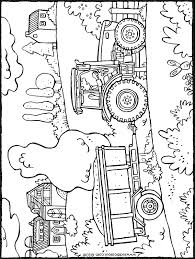 100 Kleurplaat Boerderij Tractor Kleurplaat 2019