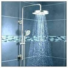 delta dual shower head delta brushed nickel shower head rain shower head with handheld combo shower delta dual shower head