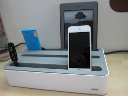 Make Charging Station Anker 5 Device Charging Station Review Youtube