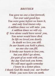 Missing you big brother on Pinterest | Miss You, I Miss You and ... via Relatably.com