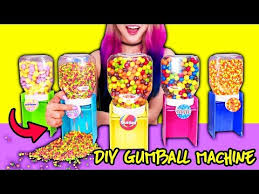 Create The Rainbow Skittles Vending Machine Custom DIY Candy Dispenser Using Everyday Objects Learn How To Make