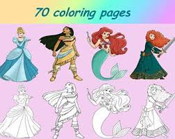 Butterfly coloring book (kids activity book) artists of the net. Disney Coloring Pdf Etsy