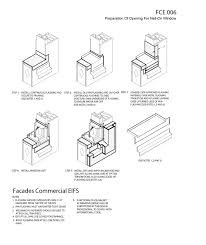 metal stud framing details. 6 Eifs Details- Preperation Of Opening For Nail-on Window- Details Metal Stud Framing