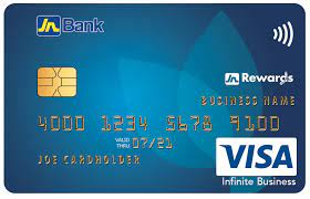 A lending institution extends a credit limit on a credit card or a line of credit. Jn Bank Visa Infinite Business Credit Card Jn Bank
