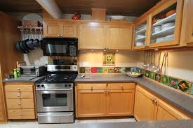 Beautiful Amazing Beige Mid Century Kitchen Cabinetry With Modern Kitchen Set And  Grey Countertop And Upper Cabinet Good Ideas