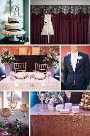 Dusty blue pink gold classic wedding ideas Rose Gold Bordeaux And Navy Wedding Color Palette 2018 Wedding Color Palettes To Inspire Your Big Calie Rose 2018 Wedding Color Palettes To Inspire Your Big Day Kennedy Blue
